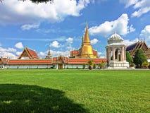 曼谷玉佛寺在曼谷 免版税图库摄影