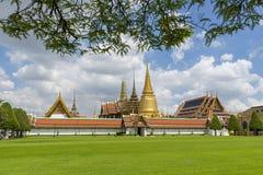 曼谷玉佛寺,鲜绿色菩萨的寺庙,曼谷,泰国 库存照片
