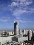 曼谷现代地平线 库存照片