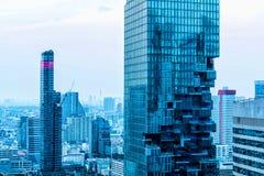 曼谷现代大厦 库存图片