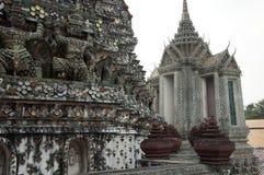 从曼谷的一个看法 免版税库存照片