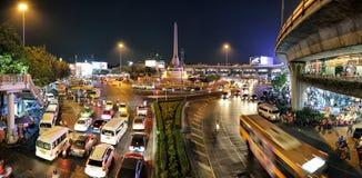 曼谷纪念碑胜利 免版税库存图片