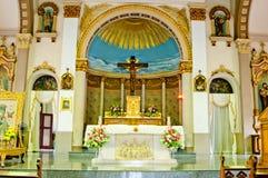 曼谷美丽的教会泰国 免版税图库摄影