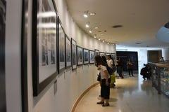 曼谷艺术和文化中心BACC, 2016年11月14日: 库存照片