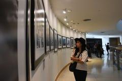 曼谷艺术和文化中心BACC, 2016年11月14日 免版税库存照片