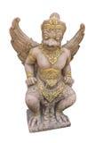 曼谷菩萨鲜绿色garuda kaew phra雕象寺庙泰国wat 图库摄影