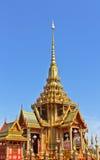 曼谷葬礼皇家泰国泰国 免版税图库摄影