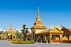 曼谷葬礼皇家泰国泰国 免版税库存照片