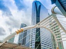 曼谷街市skywalk 免版税库存图片