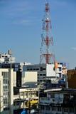 曼谷街道。 库存照片