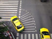 曼谷街道交通标志 免版税库存图片