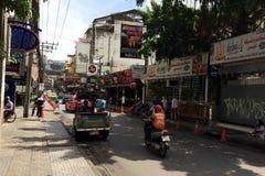 曼谷街 库存照片