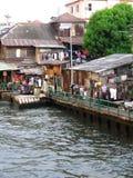 曼谷运河 免版税库存照片