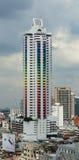 曼谷都市风景在晴天 免版税库存图片