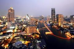 曼谷都市风景 库存照片