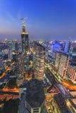 曼谷都市风景 免版税图库摄影