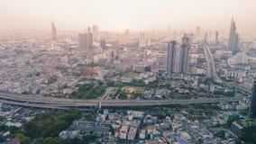 曼谷顶视图 库存图片