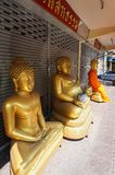 曼谷,泰国寺庙,曼谷-泰国佛教宗教 免版税库存图片