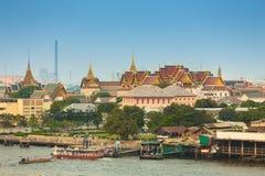 曼谷,泰国盛大宫殿  库存照片