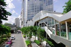 曼谷,泰国都市风景 免版税图库摄影