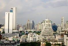 曼谷,泰国都市风景 免版税库存图片