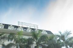 曼谷,泰国, 2017年10月12日,泰国学校命名了伯克利internat 图库摄影