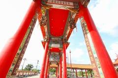 """曼谷,泰国, 2016年11月23日†""""中国寺庙 图库摄影"""
