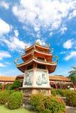 """曼谷,泰国, 2016年11月23日†""""中国寺庙 免版税库存照片"""