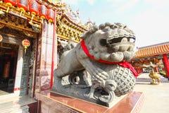 """曼谷,泰国, 2016年11月23日†""""中国寺庙 免版税库存图片"""