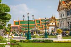 曼谷,泰国, 12月13,2013 :皇家盛大宫殿在曼谷, 免版税库存图片