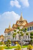 曼谷,泰国, 12月13,2013 :皇家盛大宫殿在曼谷, 图库摄影