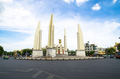 曼谷,泰国:民主纪念碑 免版税库存照片