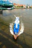 曼谷,泰国:速度小船 库存照片