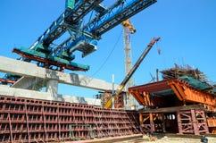 曼谷,泰国:铁路建筑 免版税库存图片