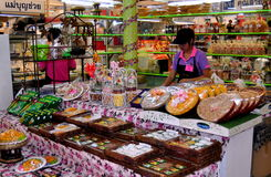 曼谷,泰国: 或者突岩Kor市场 库存图片