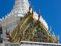 曼谷,泰国:2018 6月30日,轰隆城市柱子寺庙  免版税库存照片