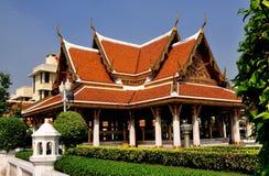 曼谷,泰国:Wat Mahathat Sala 免版税图库摄影