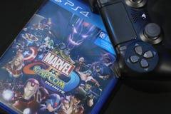 曼谷,泰国- 2017年9月:新的奇迹对Capcom 库存图片