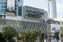 曼谷,泰国- 2017年12月6日:中央世界前面  免版税库存图片