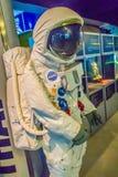 曼谷,泰国- 2017年11月4日:宇航员衣服是展示 库存照片