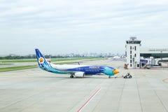 曼谷,泰国- 2017年8月04日:廊曼机场,空气traf 库存图片