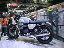 曼谷,泰国- 2018年11月30日:摩托车和辅助部件在泰国国际马达商展2018马达商展2018年  图库摄影