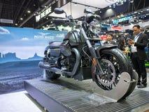曼谷,泰国- 2018年11月30日:摩托车和辅助部件在泰国国际马达商展2018马达商展2018年  库存照片