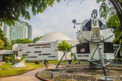 曼谷,泰国- 2017年11月4日:月球的阿波罗的模型 免版税库存图片