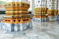 曼谷,泰国- 2017年7月18日:黎明寺寺庙的,曼谷泰国教会波兰人 库存照片