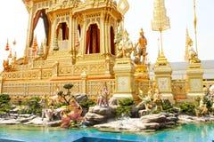 曼谷,泰国- 2017年11月04日;一些美丽一口 图库摄影