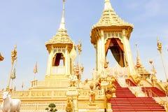 曼谷,泰国- 2017年11月04日;美好的金子视图R 免版税库存图片