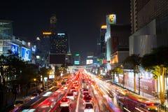 曼谷,泰国- 2016年10月13日:在泰国广场ni的看法 库存图片
