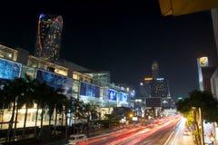 曼谷,泰国- 2016年10月13日:在泰国广场ni的看法 免版税库存照片