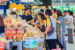 曼谷,泰国- 2017年4月23日:或者突岩Kor市场(营销 免版税库存照片